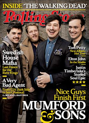 On the Cover: Mumford & Sons Rattle and Strum