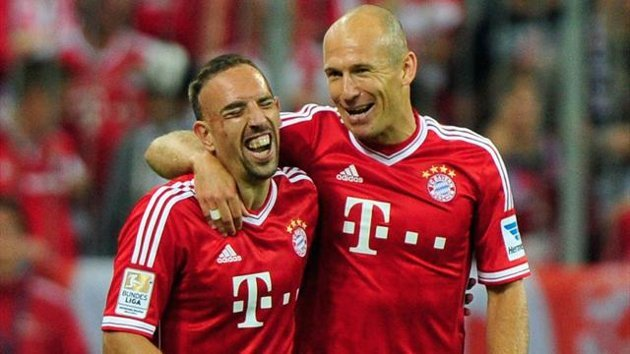 Ribéry and Robben