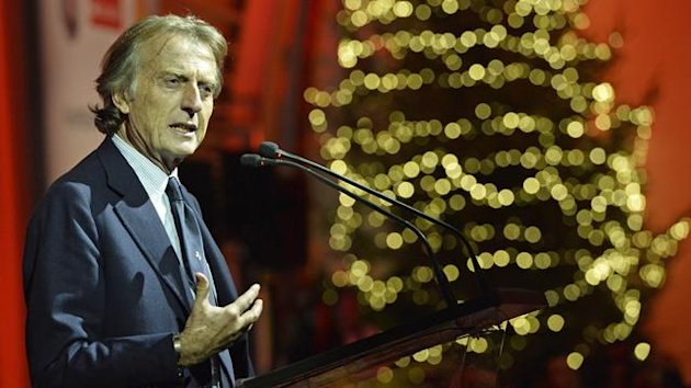 2013 Maranello Christmas Party Ferrari Montezemolo