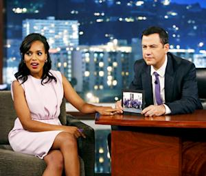 Kerry Washington Mocks Anthony Weiner, Wanted to Be Dolphin Trainer When She Was Kid
