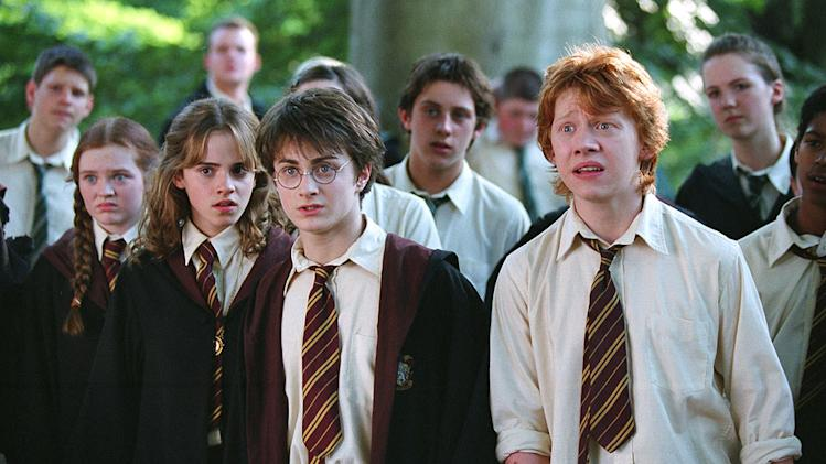 Harry Potter and the Prisoner of Azkaban 2004 Warner Bros. Pictures Emma Watson Daniel Radcliffe Rupert Grint