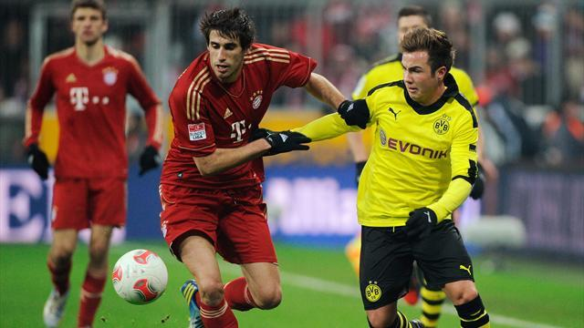 Bundesliga - Bayern share points with Dortmund