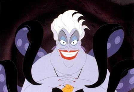 Worst: The Little Mermaid's Ursula
