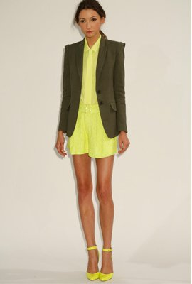 Shorts Suit and Heels