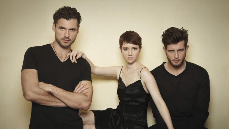 """The Following"" -- Adan Canto, Valorie Curry and Nico Tortorella"