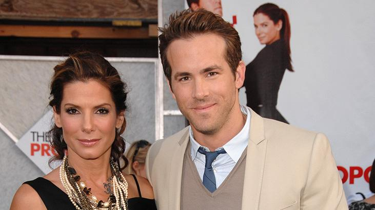 The Proposal LA Premiere 2009 Sandra Bullock Ryan Reynolds