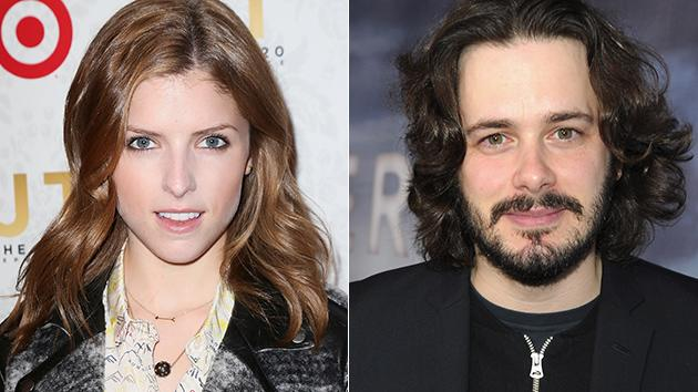 Anna Kendrick and Edgar Wright