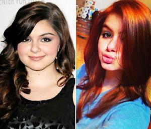 Ariel Winter Dyes Her Hair Red, Channels The Little Mermaid