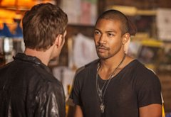 Joseph Morgan and Charles Michael Davis | Photo Credits: Skip Bolen/The CW