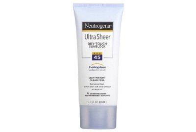 Neutrogena Ultra sheer dry-touch sunscreen spf 45