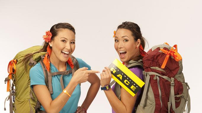 "Sisters Misa and Maiya Tanaka compete in the 20th season of ""The Amazing Race."""