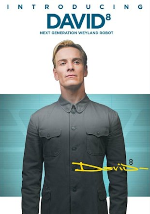 Michael Fassbender Prometheus David