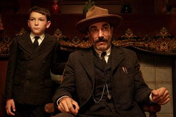 Dillon Freasier and Daniel Day-Lewis in Paramount Vantages' There Will Be Blood