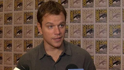 Comic Con 2012: Matt Damon On the Making of the 'Rounders' Sequel