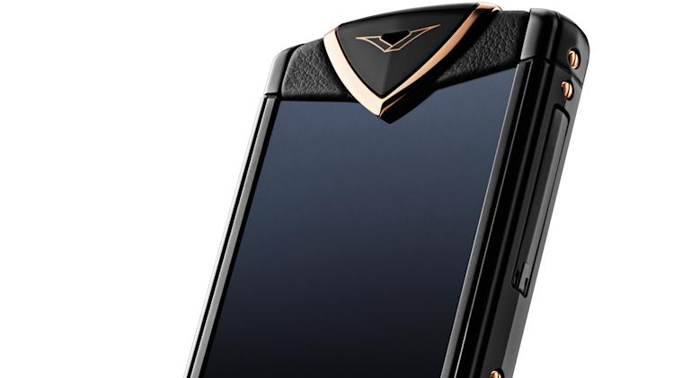 Vertu Constellation Red Gold
