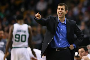 Brad Stevens will not be on the sideline for the Celtics on Thursday. (Maddie Meyer/Getty Images)