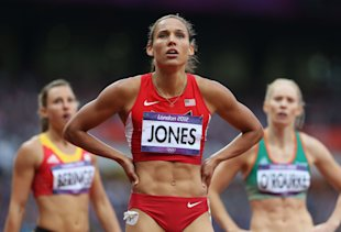 Lolo Jones finished fourth in the Women's 100m Hurdles. (Getty Images)