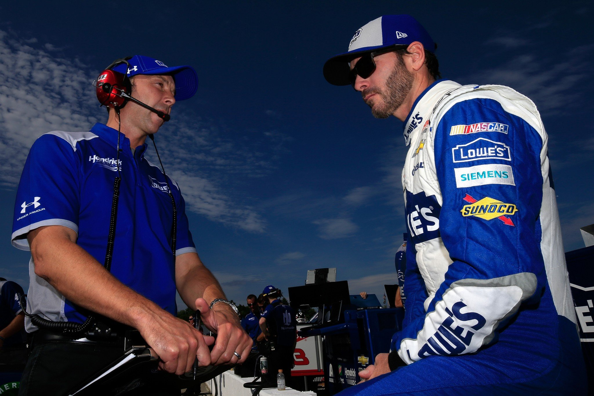 Jimmie Johnson has three wins at New Hampshire (Getty).