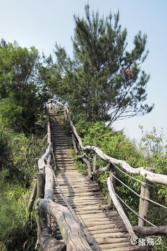 【台中旅遊】小長城之稱的大坑四號步道,風景美極了!下山必吃新凍芋圓