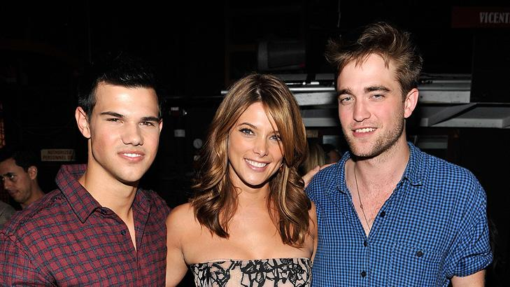 2010 Teen Choice Awards Taylor Lautner Ashley Greene Robert Pattinson
