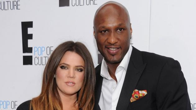 Khloe Kardashian Odom and Lamar Odom of 'Keeping Up With The Kardashians' attend E! 2012 Upfront at NYC Gotham Hall in New York City on April 30, 2012 -- Getty Premium