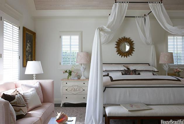 A Very Feminine Bedroom