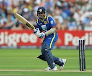 Mahela Jayawardene scored 44 runs for Sri Lanka