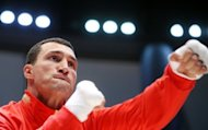 Ukraine's world heavyweight champion Wladimir Klitschko, seen here in February 2012, raised $1 million for charity by auctioning off his 1996 Atlanta Olympic Games gold medal before quickly gaining it back