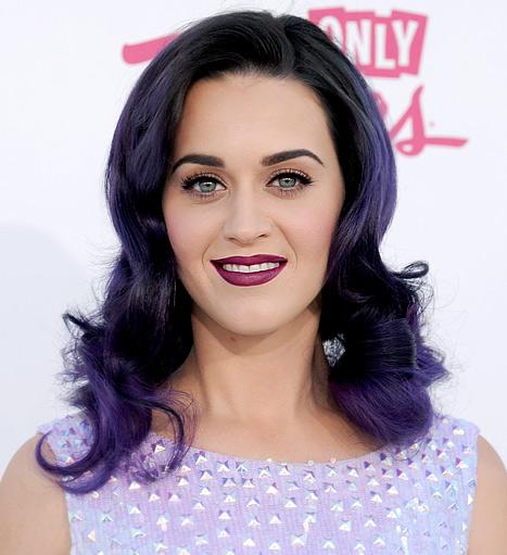 Katy Perry's Dark Purple Lipstick: Love It or Hate It?