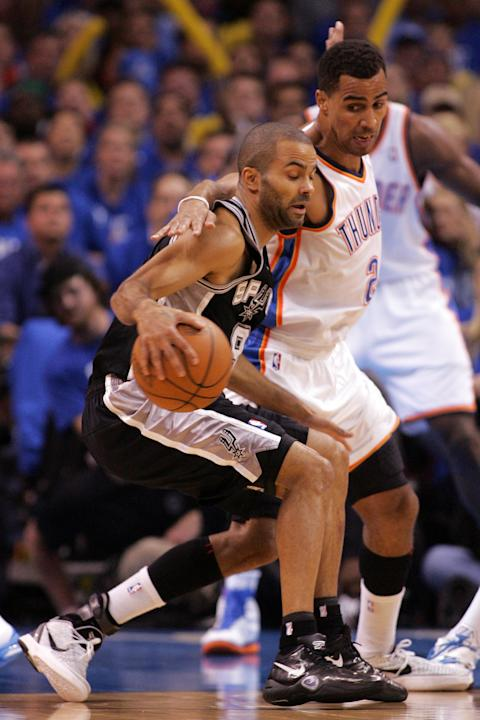 San Antonio Spurs v Oklahoma City Thunder - Game Three