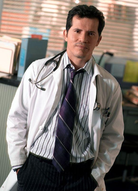 John Leguizamo as Dr. Victor Clemente in ER on NBC.