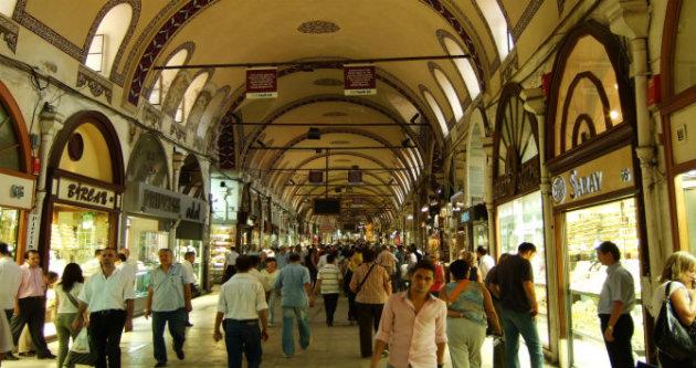 البازار الكبير في إسطنبول - المصدر: ويكيبيديا