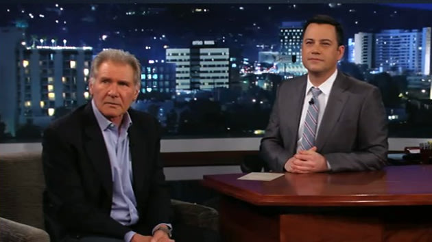 Harrison Ford, Jimmy Kimmel