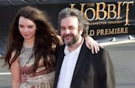 "Director Peter Jackson (R) and his daughter Katie arrive for the world premiere of ""The Hobbit"" movie in Wellington on November 28. The loudest cheers from the crowds were for Jackson, who has been credited with turning the New Zealand film industry into a multi-billion dollar success"