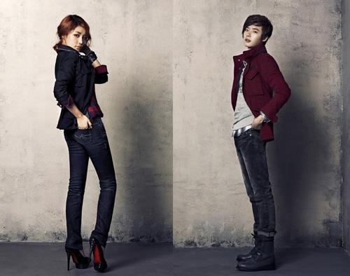 Yoon Ji Ni and Lee Jong suk suggest military jacket for couple