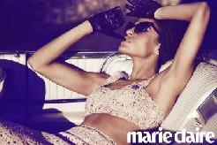 Eva Mendes appears in the March 2012 issue of Marie Claire -- Marie Claire