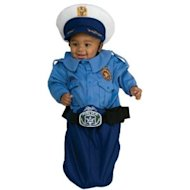 Just a heads up, adorable baby, you're not allowed to wear aviator sunglasses with that costume. (via amazon.com)