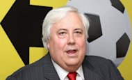 This file photo shows Australian billionaire and mining magnate, Clive Palmer, in Brisbane, in March. Palmer said Tuesday it was full steam ahead for his plan to build a 21st century version of the Titanic, with 20,000 people expressing interest in the maiden voyage