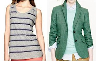 Pair a Sleeveless Tank With a Blazer