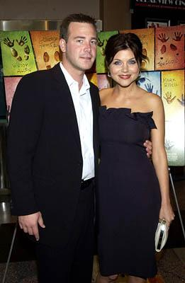 Premiere: Richard Ruccolo and Tiffani Thiessen at the New York premiere of Dreamworks' Hollywood Ending - 4/23/2002