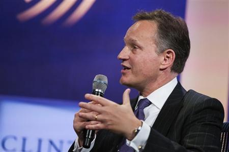 Barclays PLC grouo CEO Jenkins speaks during the Clinton Global Initiative in New York