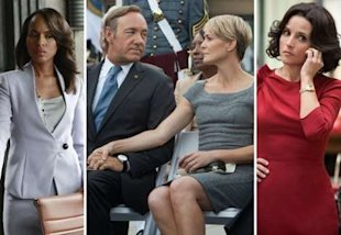 Scandal, House of Cards, VEEP