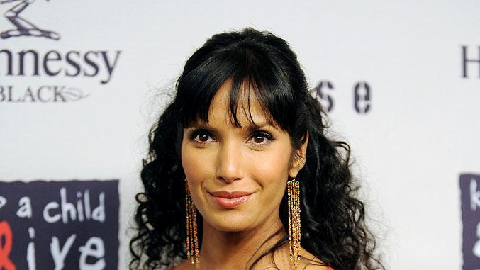 Padma Lakshmi attends Keep A Child Aliveís 6th Annual Black Ball at Hammerstein Ballroom on October 15, 2009 in New York City.