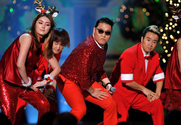 Psy Goes 'Gangnam Style' at 'Christmas in Washington'