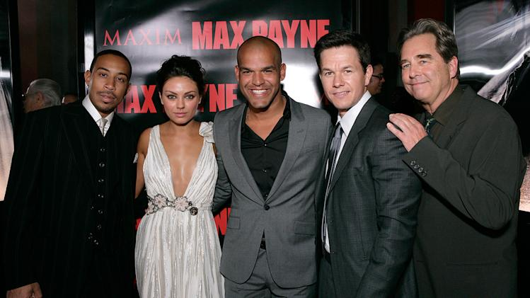 Max Payne LA Premiere 2008 Chris Bridges Mila Kunis Amaury Nolasco Mark Wahlberg Beau Bridges