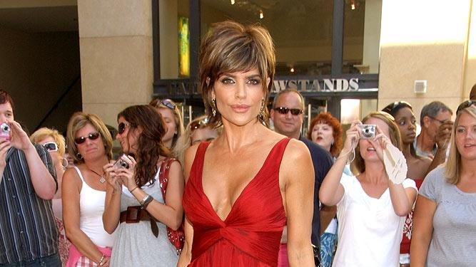 Lisa Rinna at the 34th Annual Daytime Emmy Awards.