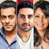 Salman Khan Spotted Bonding With Abhishek Bachchan, Gauri Khan!