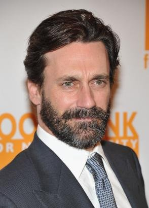 Bearded Jon Hamm