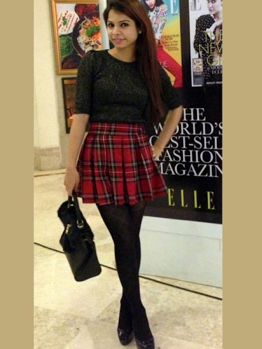 Images via : iDiva.com A plaid skirt never goes out of style. Source: StylePile Related Articles - Trend Alert: Graphic Knits Trend Alert: 10 Ways to Rock Tartan