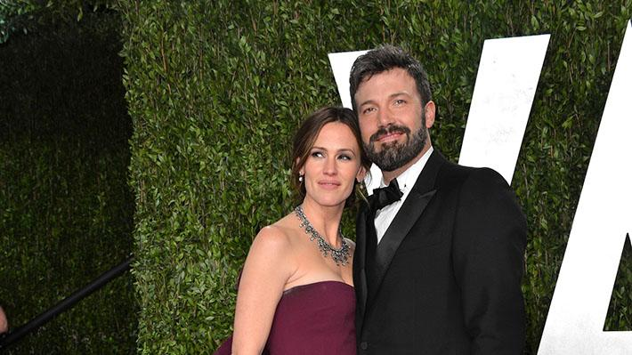 2013 Vanity Fair Oscar Party Hosted By Graydon Carter - Arrivals: Jennifer Garner and Ben Affleck